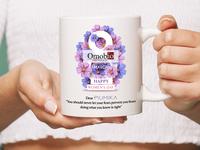 women's day Mug Design