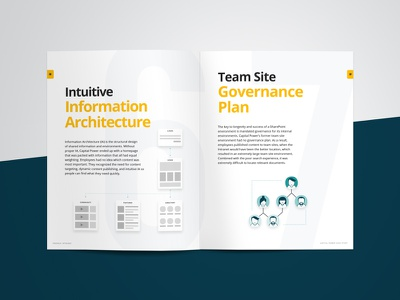 Case Study Design governance architecture information intranet responsive sharepoint magazine infographic industry energy editorial bonzai