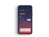 Mobile App for Space trips