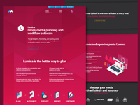 Mediaocean's Lumina Page Re-Design