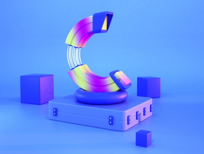 37 c 3dillustration 3d illustrator 3d graphic designer 3d designer 3d art 3d artist 3d graphic design 36daysoftype