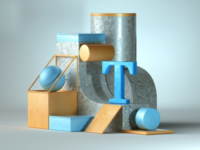 Is It True #36daysoftype design illustration designer 3d illustration 3d art graphic design 3d