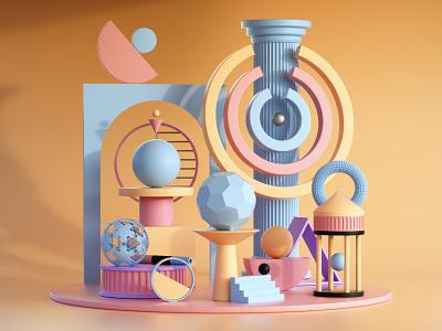 Tanekoko graphicdesign graphic designer 3d artist illustration design designer 3d illustration 3d art graphic design 3d