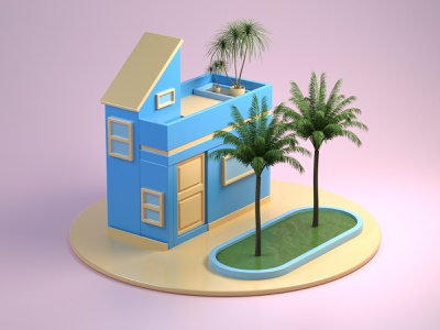 low poly house graphicdesign graphic designer 3d artist illustration design designer 3d illustration 3d art graphic design 3d