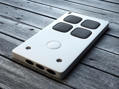 Controller Device Concept Design illustration design designer 3d illustration 3d art graphic design product design 3d
