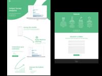 Minimalist Landing Page Design