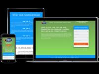 Smooth Minimalist Landing Page Design