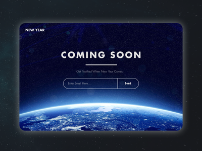Daily UI 48/100 - Coming Soon dailyui048 landingpage uxdesigner uidesigner designer design web design uiux ui dailyui