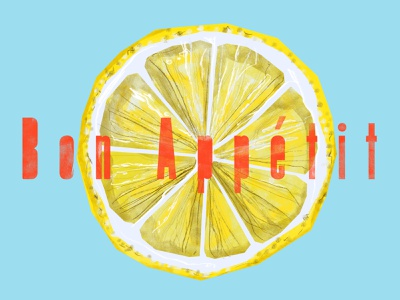 ++ summertime lemon yellow funny web illustration design