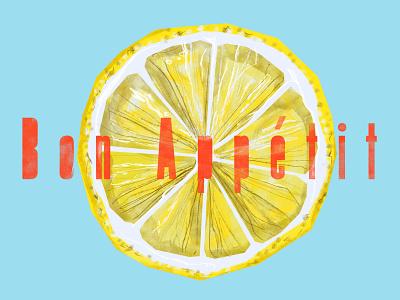 ++ summertime lemon yellow funny web illustration design