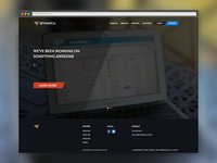 Landing Page for Bitmatica