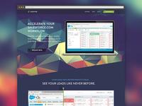 Dashtab Landing Page Concept