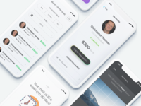 Icon On-Demand profile medical ui app ios white clean minimal flat