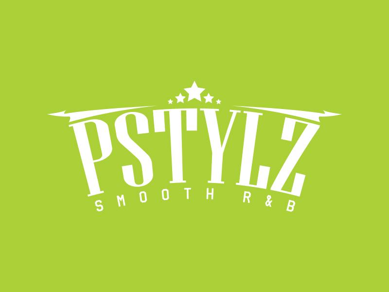PSTYLZ smooth R&B website web vector art typography art typography type minimal logo idea iconic logo lettering illustation illustrator identity icon flat design branding artwork
