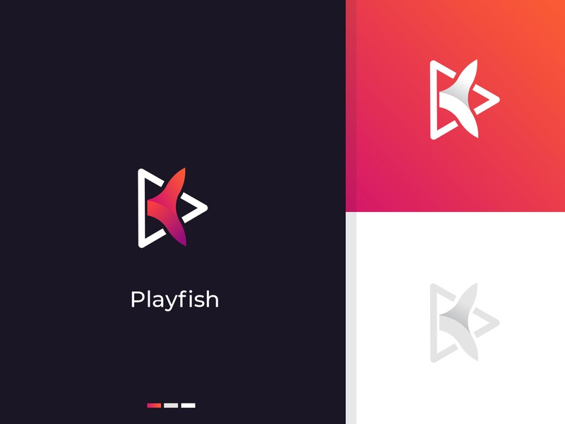 Play fish logo
