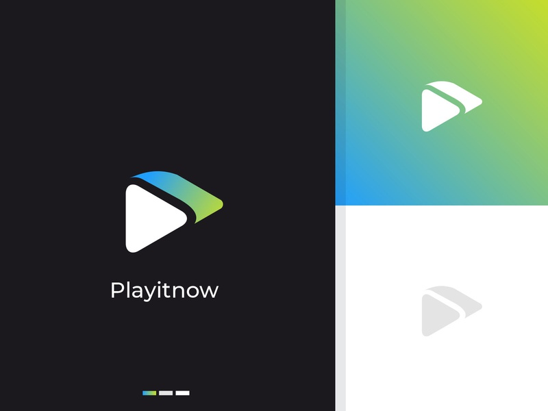 play button app logo