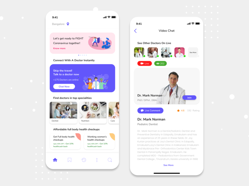Doctor Appointment Booking App - Medical App hospital booking medical booking medical app medical care doctors booking doctors booking system appointment booking booking app mobile app design ios design ux ui