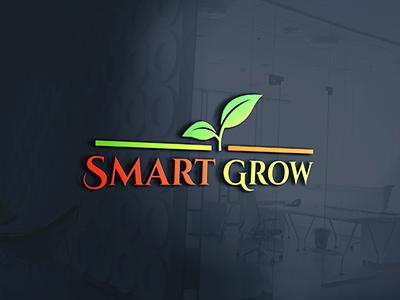 Smart Grow Logo Design