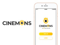 First Shot! Cinemons UI/UX