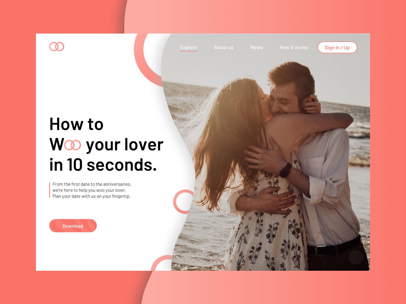 Dating Planner app