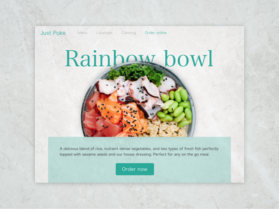 Daily UI #003: Landing page ui design dailychallenge daily 100