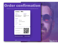 Daily UI #017: Email Receipt