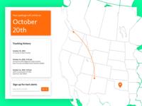Daily UI #020: Location tracker