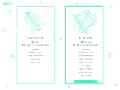 Daily UI #030: Pricing