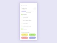 Daily UI #042: ToDo List