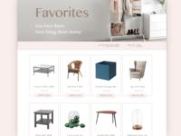 Daily UI #044: Favorites