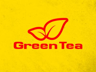 Shell & Green Tea typogaphy branding