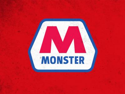 Marathon Fuel & Monster concept branding agency typography branding