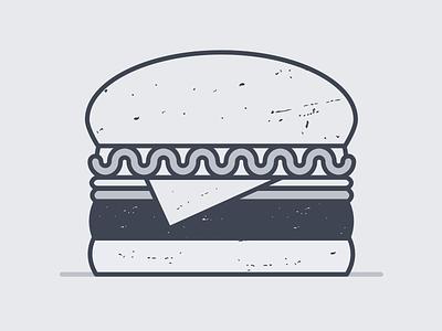 1. Hi! This is Burger. screenshake ryan putnam texture operator food burger art illustration