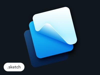Freebie - Framer Logo in sketch