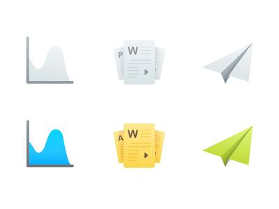 Analytics Dashboard - Icons
