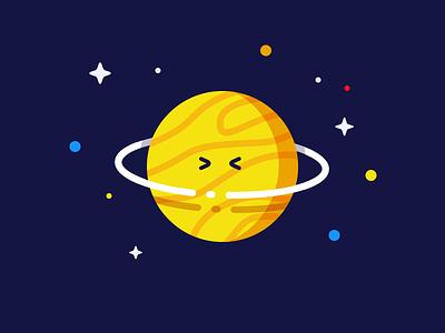 MBE's Planet screenshake mbe space planet flat illustration