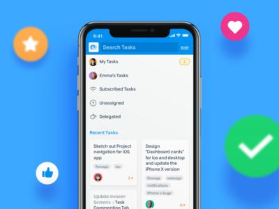 Tasks - Flow iOS App