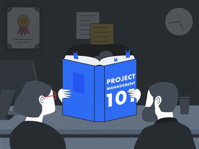 Project Management 101 Illustration