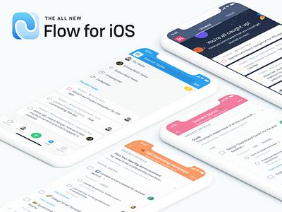 The All New Flow ui design flow project management flat