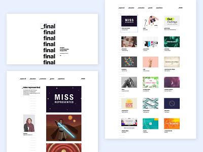 Design Grads Website 2019 final communication graphic website portfolio grads design art