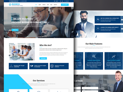 Shrchato – Business and Corporate Template