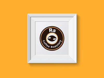 Ra Coffee Roastery Logo branding logo vector illustration art graphic  design inspiration dribbble design creative