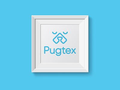 Pugtex Logo branding logo vector graphic  design inspiration dribbble design creative
