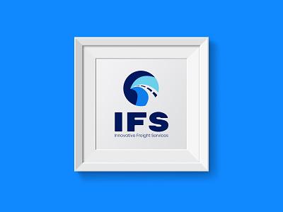 IFS Logo logo branding vector illustration art graphic  design inspiration dribbble design creative