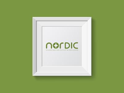 Nordic Logo logo branding vector illustration art graphic  design inspiration dribbble design creative