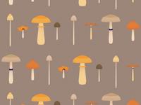 Little Brown Mushrooms