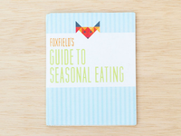 Seasonal Produce Booklet - Cover