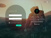 Yokozuna Data Platform Login