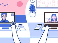 Blog Article Illustration