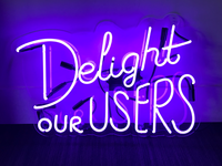 Delight our users